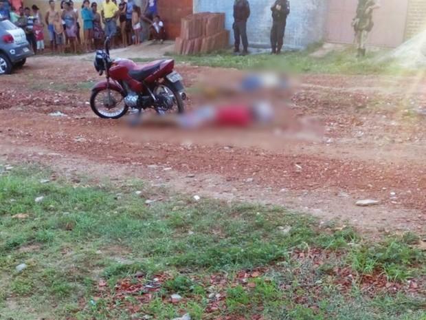 Parelhas viveu mais uma madrugada de violência; nas últimas 24 horas, cinco pessoas foram mortas na cidade. (Foto: PM/Divulgação)