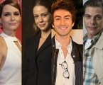 Claudia Abreu, Leandra Leal, Rodrigo Pandolfo e Luiz Henrique Nogueira | TV Globo