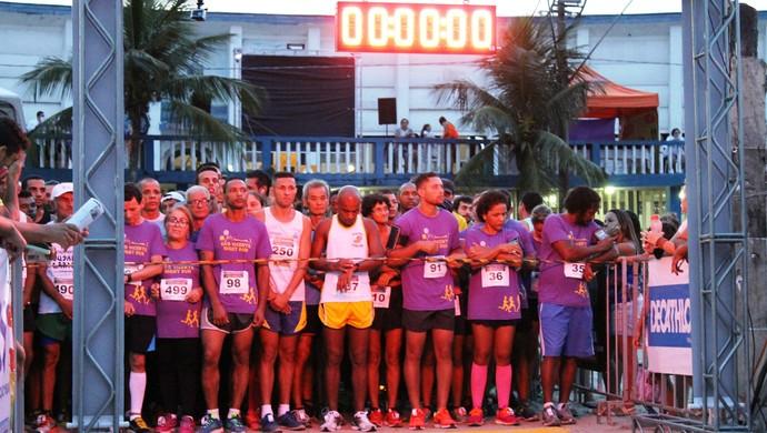 3ª São Vicente Night Run (Foto: Divulgação / E5+ Comunicação )