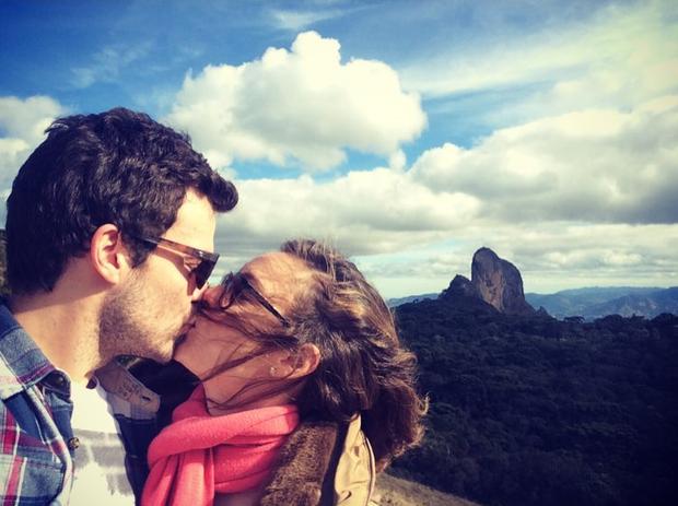 João Gomez e Regiane Alves (Foto: Reprodução/Instagram)