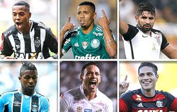 Brasileirão: diferença entre os seis primeiros é a menor desde 2006
