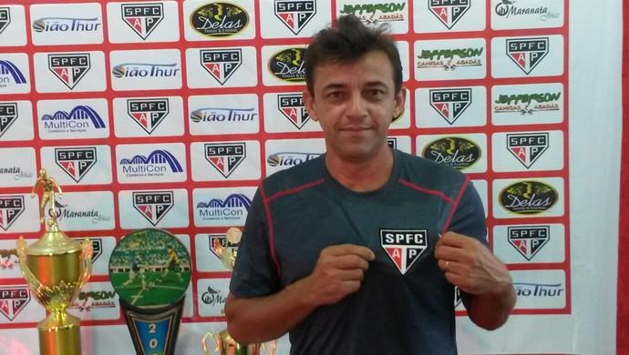 Adenos Lima; São Paulo-AP; Amapá (Foto: Rafael Moreira/GE-AP)