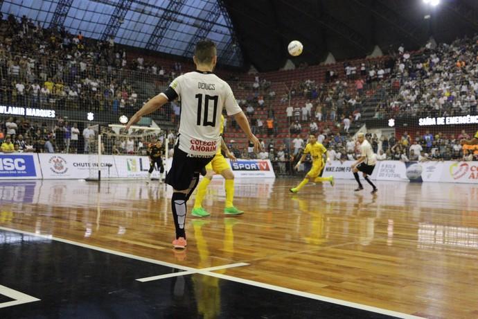 5f8be9e9aa Corinthians x Assoeva semifinal Liga Nacional de Futsal (Foto  Yuri  Gomes Divulgação)