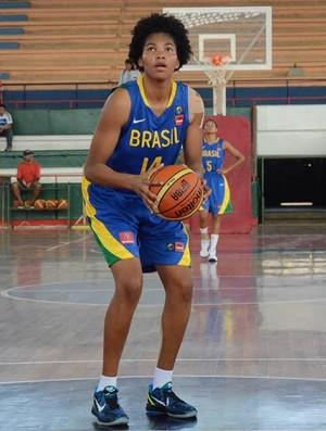 Bianca seleção brasileira de basquete (Foto: Divulgação/CBB)