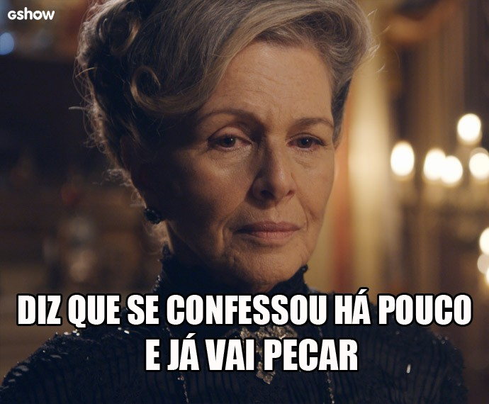 Condessa Vitória e suas tiradas ácidas (Foto: Gshow)