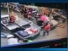 Imagens registram ação de roubo a supermercado em São Gotardo