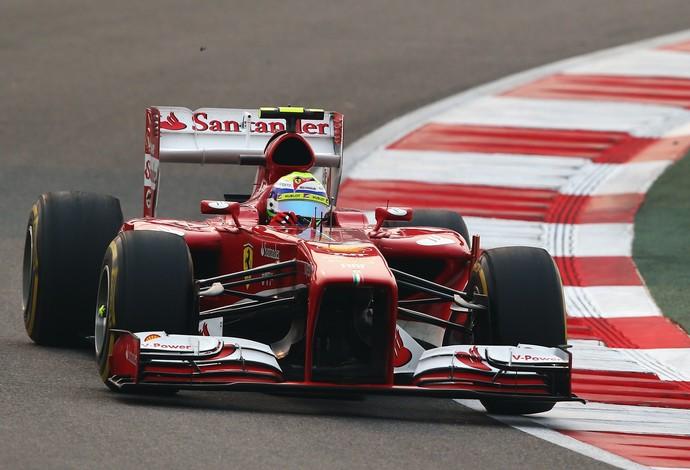 Na Índia, Felipe Massa conquistou o quarto lugar e terminou à frente do companheiro Fernando Alonso (Foto: Getty Images)