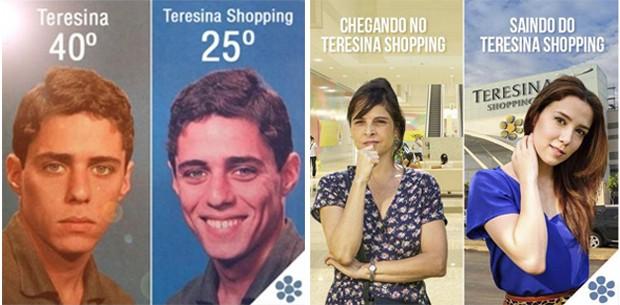 Montagem Teresina Shopping (Foto: Divulgação)