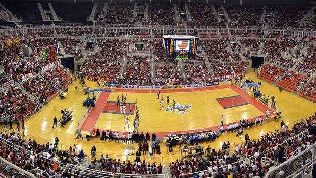 basquete nbb flamengo e São José (Foto: Alexandre Vidal / FlaImagem)