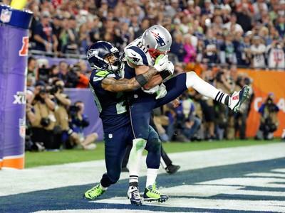Danny Amendola e Tharold Simon, Superbowl, NFL (Foto: Reuters)