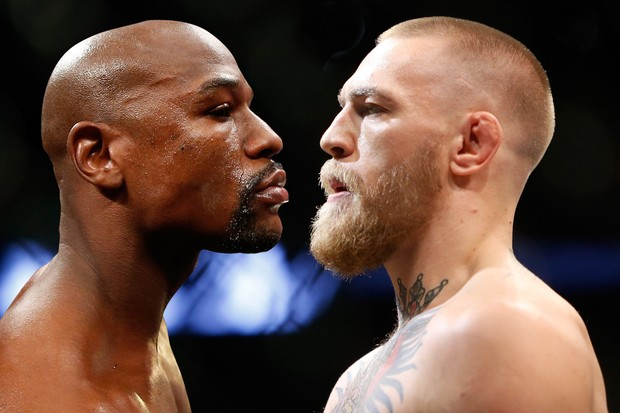 Floyd Mayweather Jr. vs. Conor McGregor: a encarrada mais marrenta da história (Foto: GQ Brasil/Getty Images)