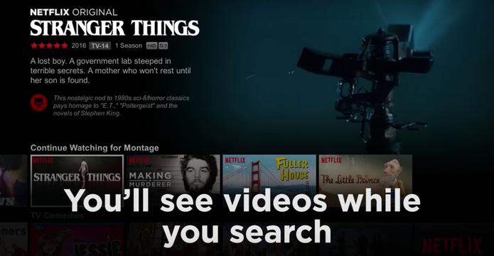 Prévias de 90 segundos ajudarão a escolher o que assistir na Netflix (Foto: Reprodução/Felipe Vinha)
