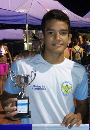 Rafael Marreiros, nadador piauiense (Foto: Reprodução)