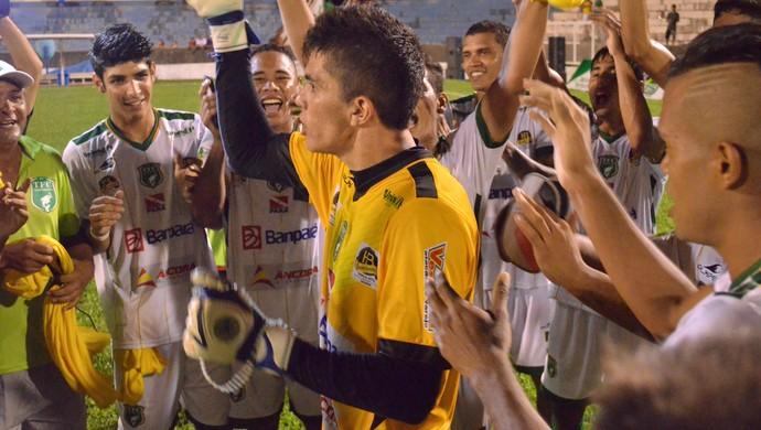 Jader, goleiro do Tapajós (Foto: Weldon Luciano/GloboEsporte.com)