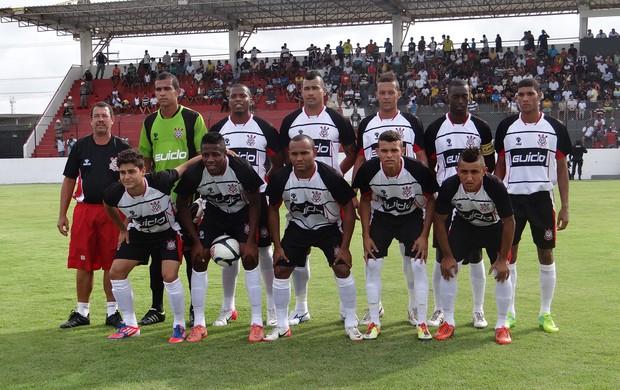 Corinthians-AL 2x2 CRB, Campeonato Alagoano 2013 (Foto: Paulo Victor Malta/Globoesporte.com)