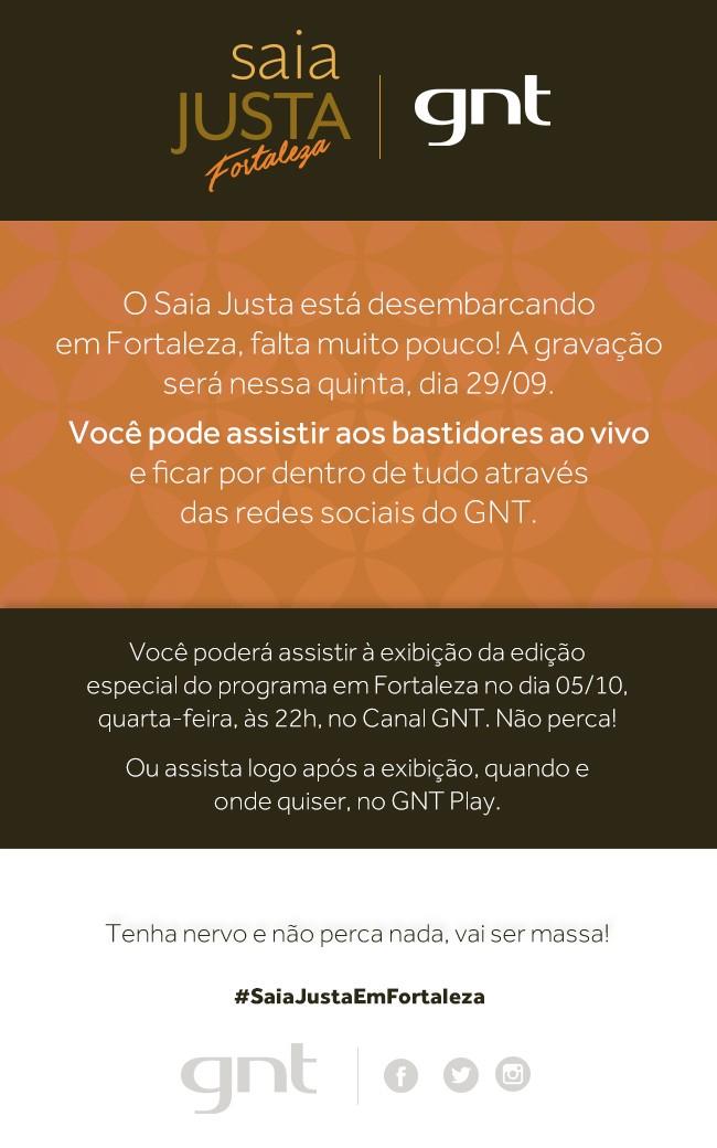 Saia Justa em Fortaleza (Foto: GNT)