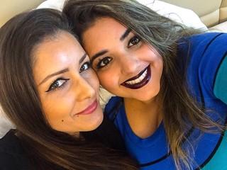 Nana Gouvea posa com a filha Daphynie (Foto: Reprodução/Instagram)