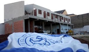 Bentão quer terminar o alojamento em novembro (Foto: Jesus Vicente / EC São Bento)