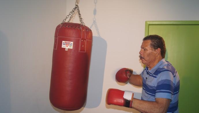 Maguila boxeador hospital (Foto: Amanda Kestelman)