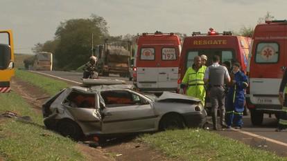Duas pessoas de Américo Brasiliense morrem em acidente em Ribeirão Preto, SP