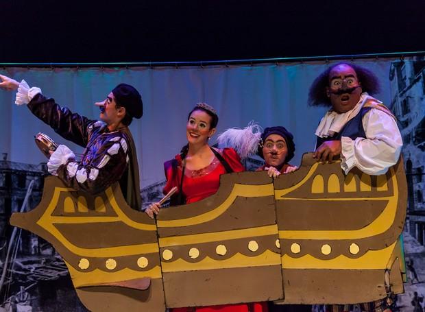 Othelito, em Shakespeare + 400 com Companhia Vagalum Tum Tum (Foto: Felipe Denuzzo)