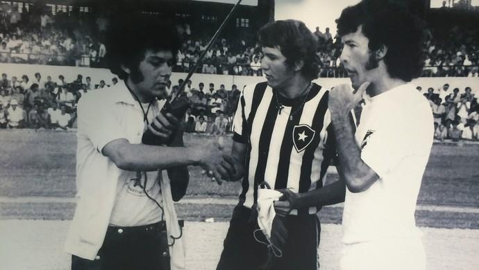 Marinho Chagas e Edson - ABC x Botafogo (Foto: Ribamar Cavalcante/ Acervo Pessoal)