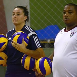 Hylmer Dias, técnico vôlei, Fluminense (Foto: Mailson Santana (Divulgação FFC))