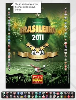 campeonato brasieiro 2011 álbum panini