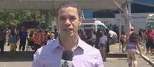 Repórter faz pedido de casamento ao vivo  (Rede Amazônica)