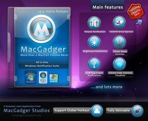 MacGadger, personalizar Windows
