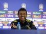 Paulinho pede paz contra Colômbia e diz: ''Se estou aqui, é porque mereço''