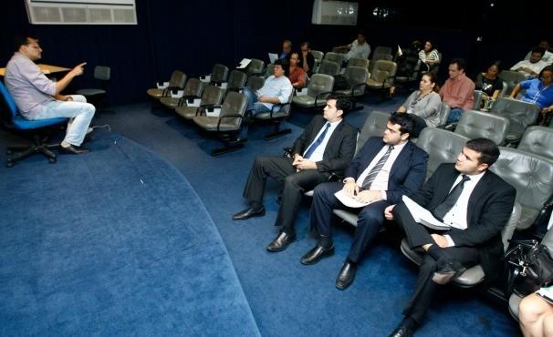 reuniao eleição  (Foto: TV Liberal)