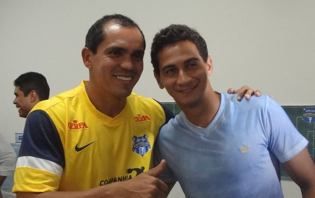 Ganso e Giovanni: ex-jogador desmentiu ter problemas com o camisa 8 são-paulino (Foto: Pedro Cruz / Globoesporte.com)