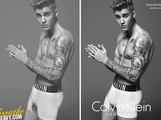 Justin Bieber Montagem (Foto: Reproduo)