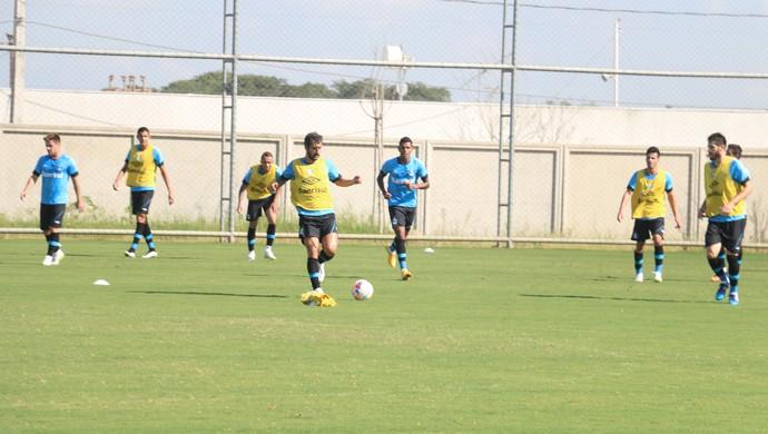 Treino do Grêmio no CT (Foto: Eduardo Moura/GloboEsporte.com)