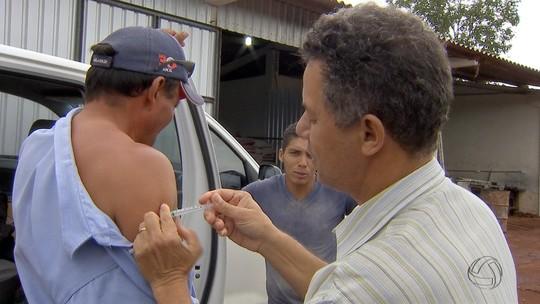 Saúde vai imunizar 10 mil pessoas da zona rural de MS contra febre amarela