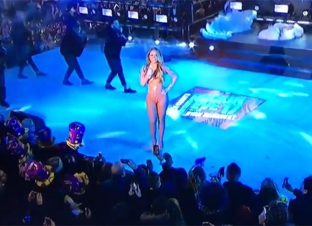 Mariah Carey já voltou para Nova York para o show da virada