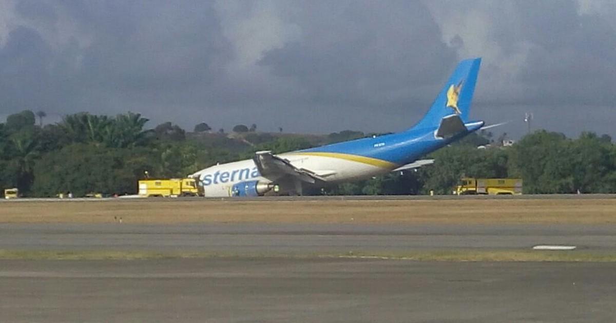 [Brasil] Acidente com avião de carga provoca impacto em 13 voos no Recife Aviao
