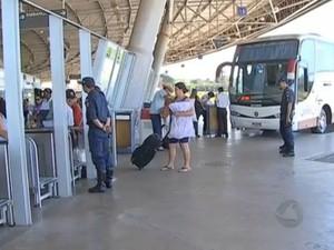 Rodoviária de Campo Grande (Foto: Reprodução/TV Morena)