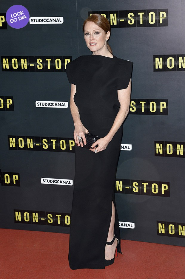 Look do dia - Julianne Moore (Foto: AFP / Agência)