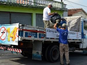 Operação Bairro Limpo em Arujá (Foto: Willian Almeida/Prefeitura de Arujá)