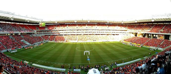 sport x são paulo arena pernambuco (Foto: Elton de Castro)