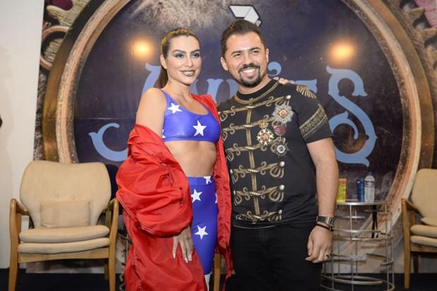 Cleo Pires e Xand Avião (Foto: Davi Magalhães/Ed. Globo)