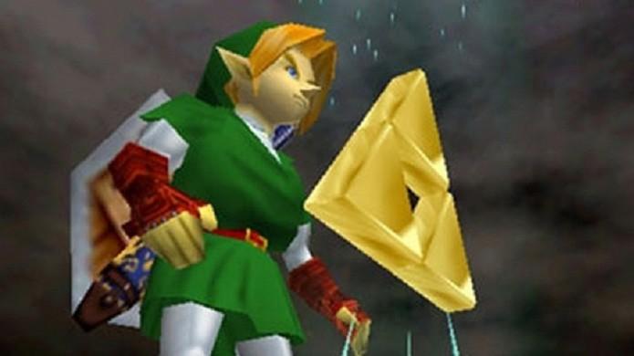 O rumor de que era possível obter a Triforce em The Legend of Zelda: Ocarina of Time ganhou força na época (Foto: Reprodução/Got Game)