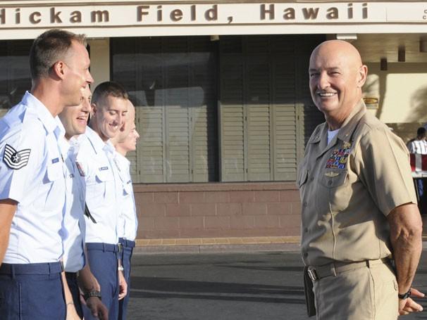 Famoso por Lost, Terry O'Quinn participa da segunda temporada de Hawaii Five-0 (Foto: Divulgação / CBS)
