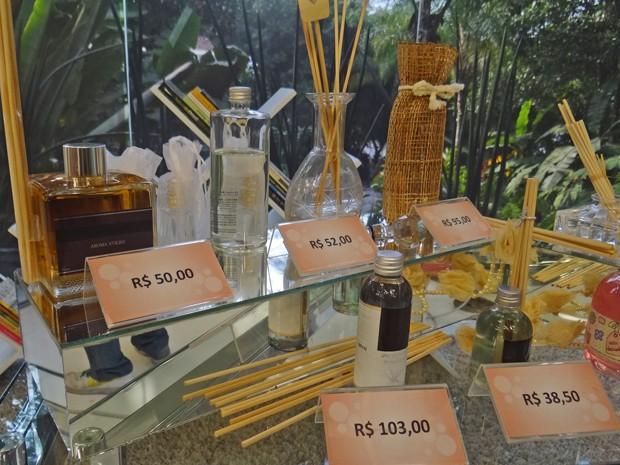 Veja os preços dos perfumes que você pode fazer em casa (Foto: Mais Você / TV Globo)