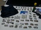 Homem é preso com droga, arma e munições em Nova Friburgo, RJ