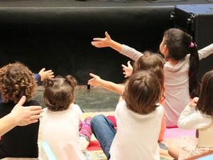Crianças no projeto '#MinhasFériasNoSesc' em Piracicaba (Foto: Acervo do Sesc Piracicaba)
