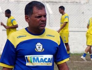 Técnico do Macaé, Toninho Andrade 2 (Foto: Tiago Ferreira / Assessoria)