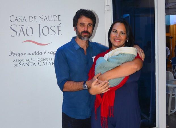 Eriberto Leão e Andréa (Foto: William Oda/Agnews)